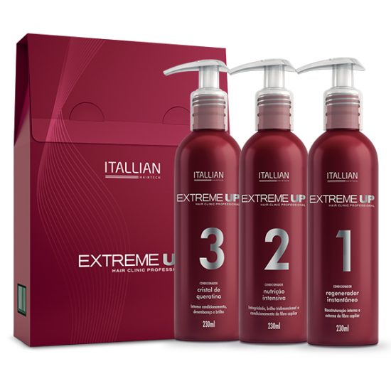 Extreme Up Hair Clinic, regeneration pack for damaged hair