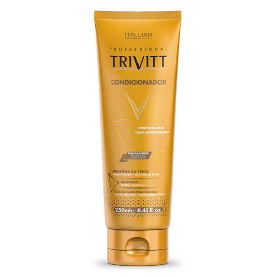Conditioner Cream Trivitt Itallian Hairtech 250ml