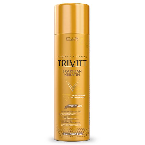 Brazilian Keratin by Professional Trivitt From Itallian Hairtech
